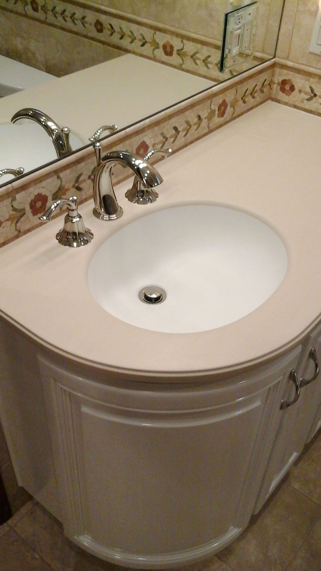 ... CORIAN SINK RADIUS DOOR