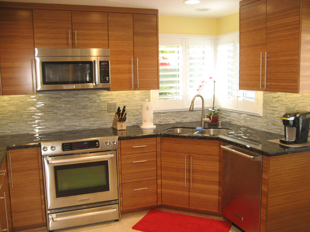 Slab Kitchen Doors