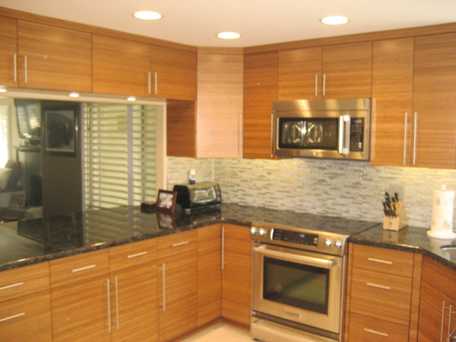 Kitchen cabinets doors and fronts - Kitchen Cabinets With Flat Slab Doors And Drawer Fronts Standard